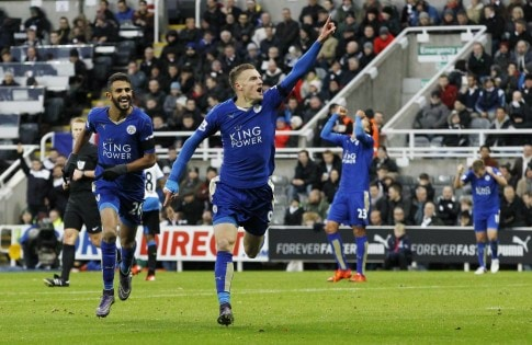 Newcastle United v Leicester City - Barclays Premier League