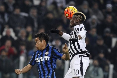 Football Soccer - Juventus v Inter Milan - Italian Cup Semi Final First Leg