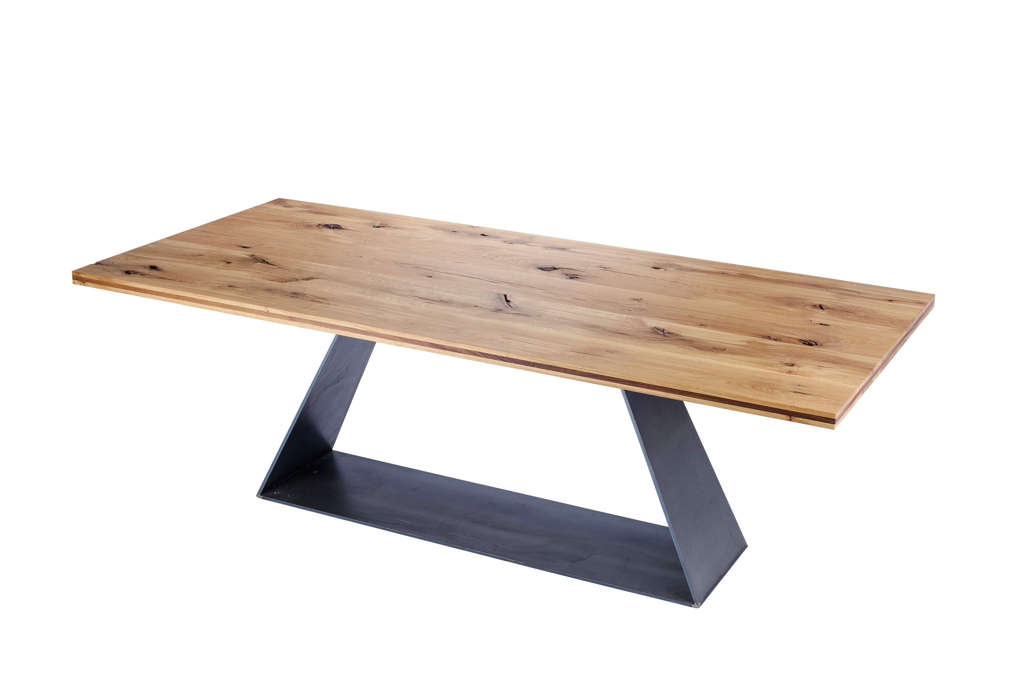 Gustav Dining Table Solid Oak, AED 14,999jpg