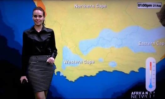 Surita Smit ANN7 weather