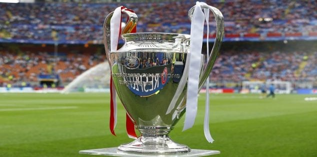 Soccer Football - Atletico Madrid v Real Madrid - UEFA Champions League Final - San Siro Stadium, Milan, Italy - 28/5/16 The Champions League trophy before the game Reuters / Stefano Rellandini Livepic EDITORIAL USE ONLY.