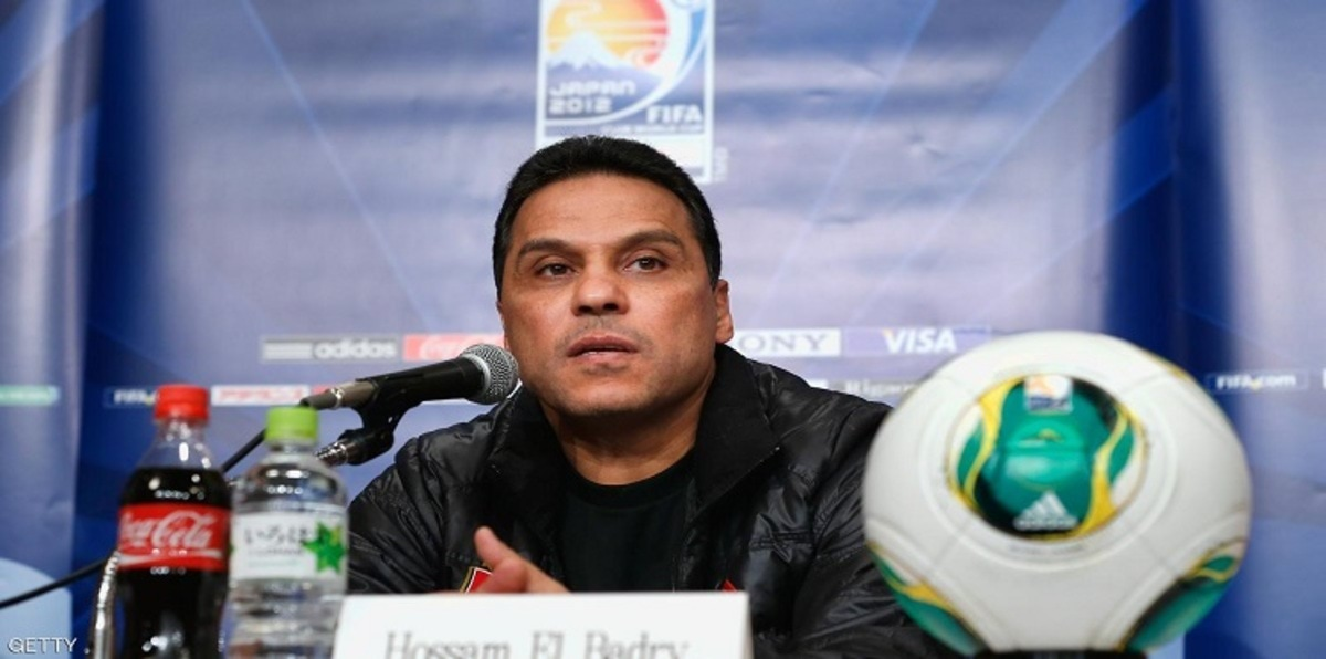 NAGOYA, JAPAN - DECEMBER 11:  Al-Ahly coach Hossam El Badry answers a question during the Ulsan Hyundai press conference at Marriott Associa Nagoya Hotel on December 11, 2012 in Nagoya, Japan.  (Photo by Lintao Zhang/Getty Images)