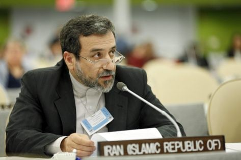 "Abbas Araghchi, Deputy Minister for Foreign Affairs for the Islamic Republic of Iran, addresses the High-level meeting of the General Assembly on the Realization of the Millennium Development Goals and Other Internationally Agreed Development Goals for Persons with Disabilities - Round Table 1 ""International and regional cooperation and partnerships for disability inclusive development."""